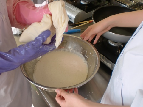豆腐作り3