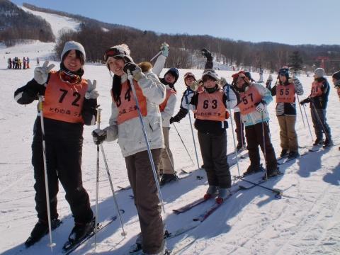 スキー遠足1